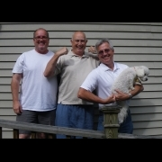 Three Men and a Dog