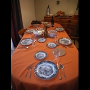 Lindsays Table with Grams Dishes
