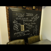 Sarah's kitchen blackboard