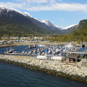 Skagway from Stateroom Balcony